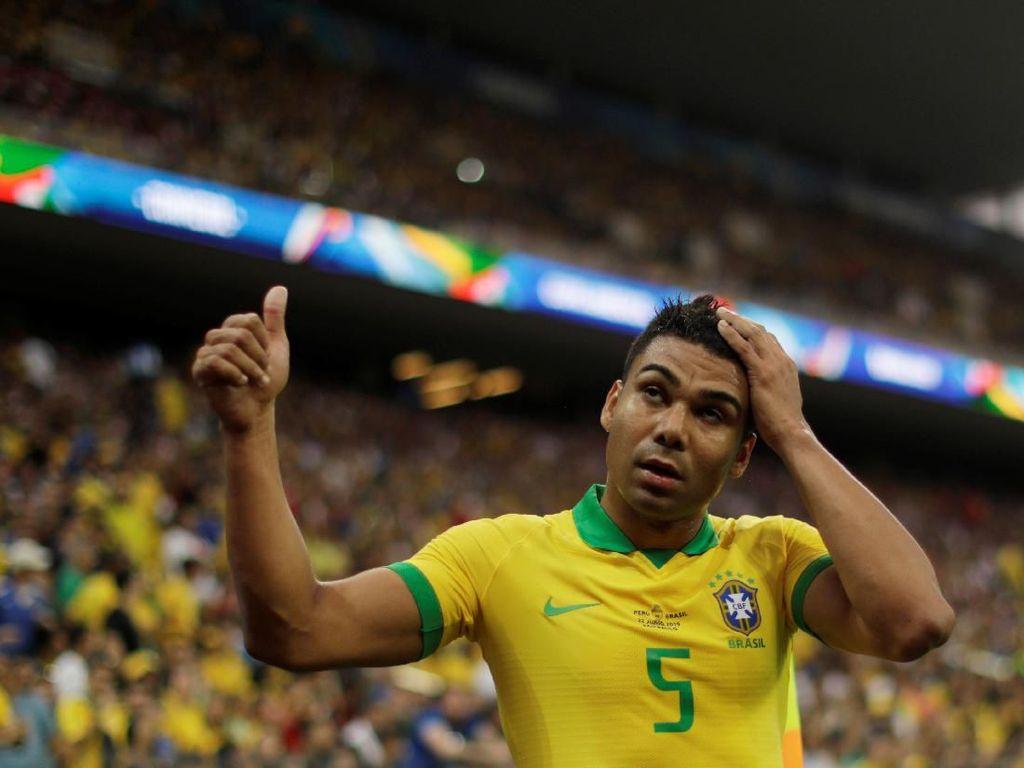 Casemiro, Pelindung Lini Belakang Brasil di Copa America 2019