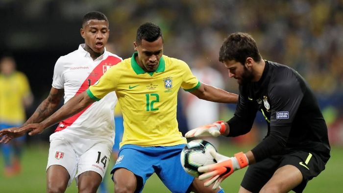 Jadwal siaran langsung final Copa America 2019 (Foto: REUTERS/Ueslei Marcelino)