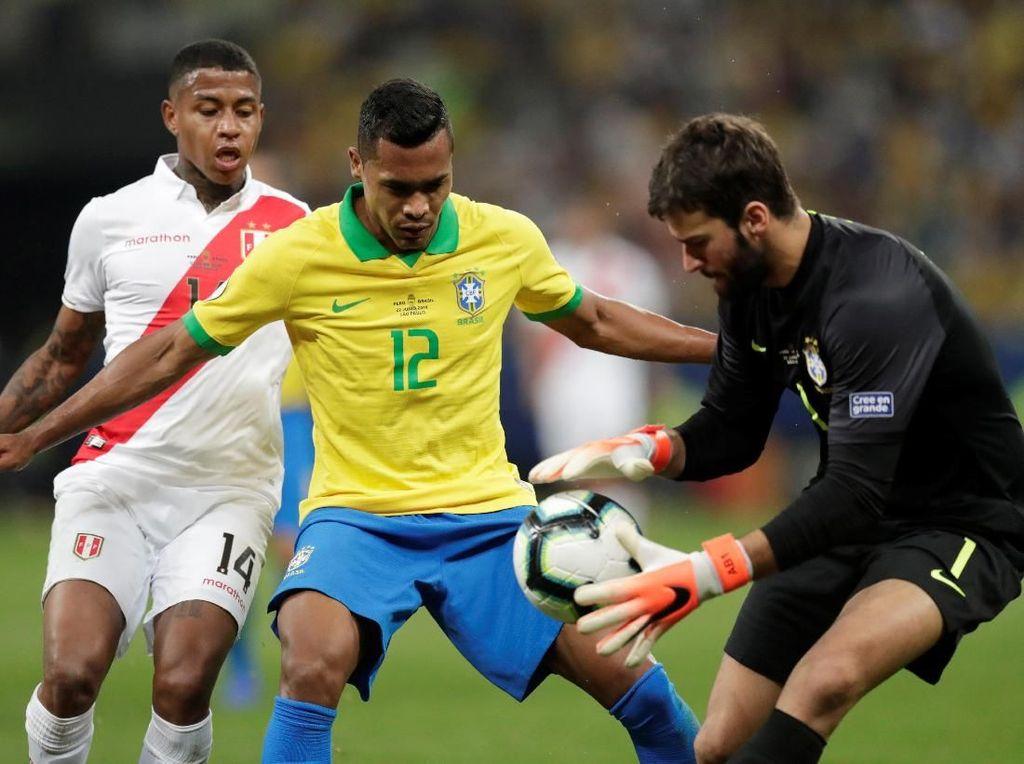 Jadwal Siaran Langsung Final Copa America 2019: Brasil vs Peru