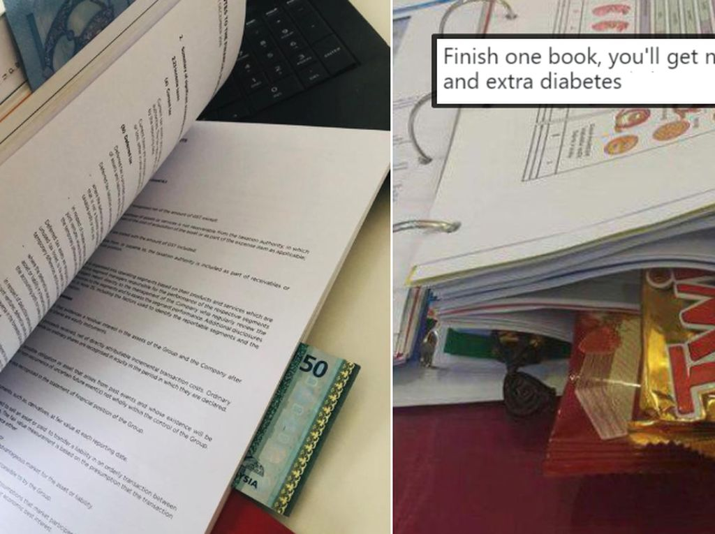 Agar Semangat Belajar, Siswa Ini Selipkan Cokelat di Buku Pelajarannya