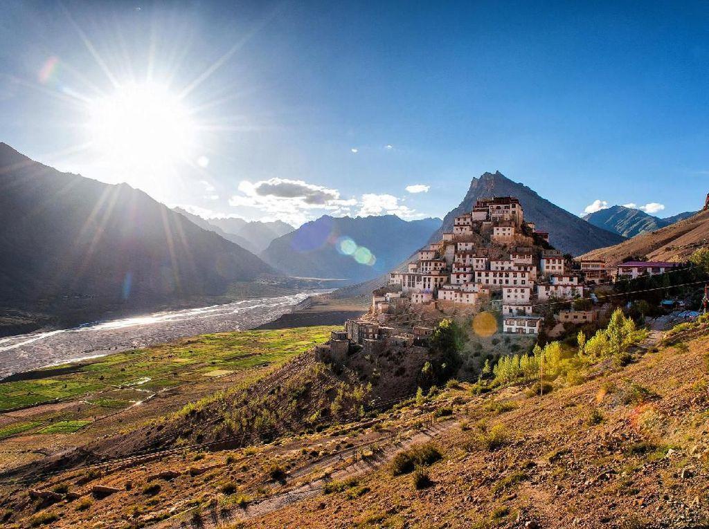 Foto: Lembah Cantik yang Tersembunyi di India