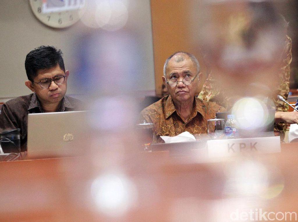 Pimpinan KPK dan Komisi III Rapat Bahas Pelaksanaan Program Kerja