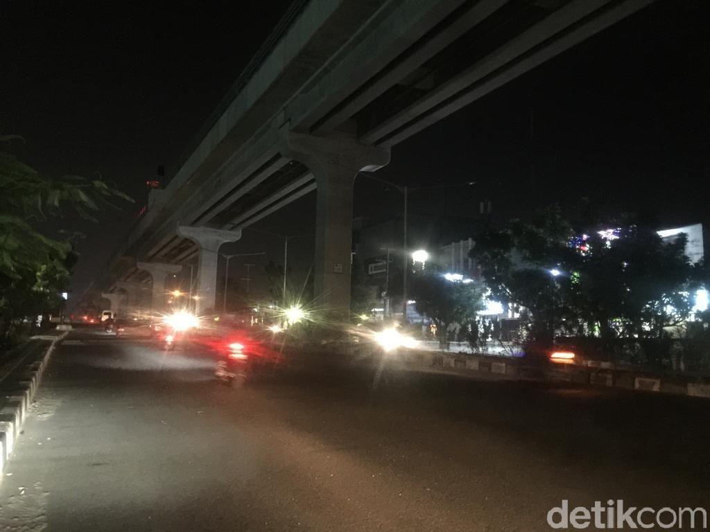 Penjelasan Kemenhub Soal Listrik Mati di Sekitar Jalur LRT Palembang