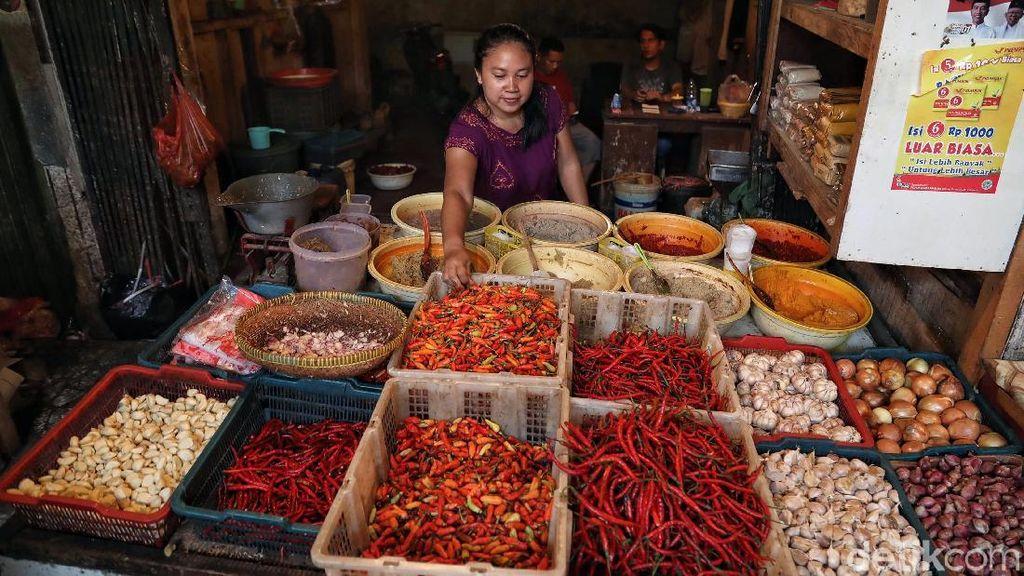Pedasnya Harga Cabai Bikin Juni Inflasi 0,55%