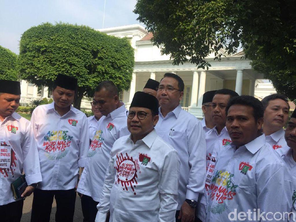 Cak Imin: Jokowi Mulai Bahas Calon Menteri Pertengahan Juli