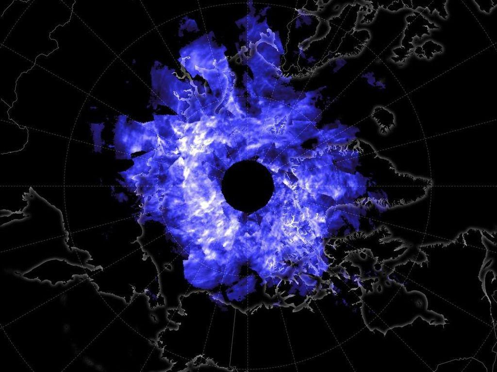 NASA Unggah Foto Kobaran Api Ungu Raksasa, Apa Itu?
