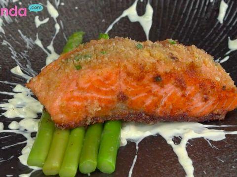 Resep Salmon Keju, Krim Lumer Nikmat di Mulut