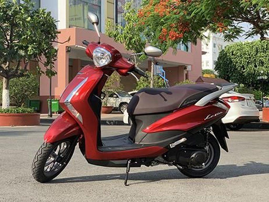 Skutik Yamaha Bergaya Retro Bakal Diboyong ke Indonesia?