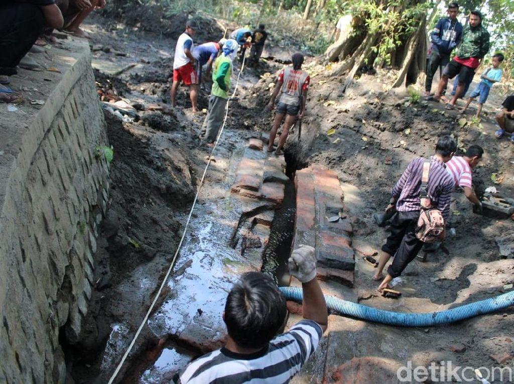 Situs Kanal di Jombang Diperkirakan Bagian Permukiman Majapahit