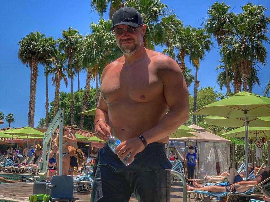 Sayang Anak, Pria Gemuk Ini Diet dan Turun Berat Badan 41 Kg dalam 5 Bulan