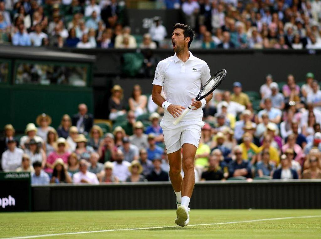 Awal Mulus Djokovic di Wimbledon