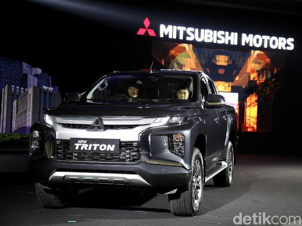 Mitsubishi Triton Bertampang Xpander Mendarat di Indonesia