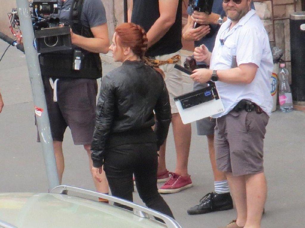 Bocoran Suasana Syuting Film Black Widow