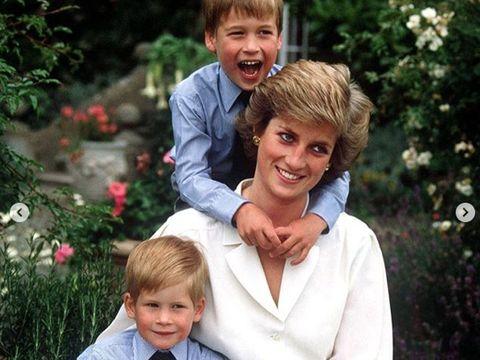 Amarah Putri Diana yang Membuat Pangeran William Menangis