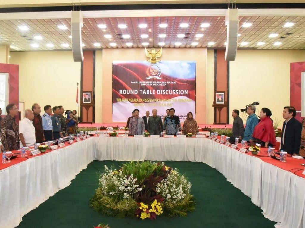 Lemkaji MPR Gelar Diskusi Bahas soal Wilayah dan Keamanan Negara