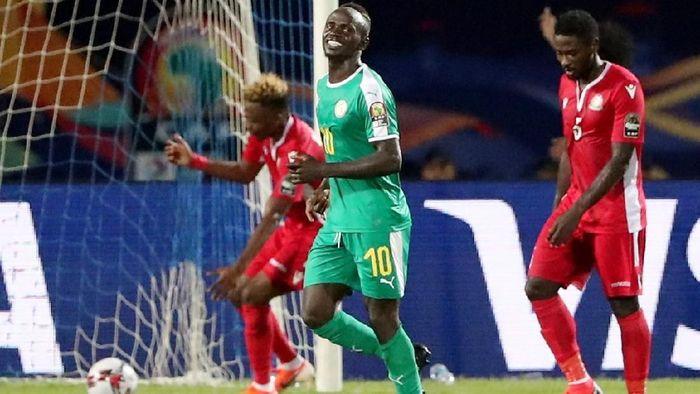 Sadio Mane terancam absen di pekan pertama Liga Inggris (Foto: Suhaib Salem/Reuters)