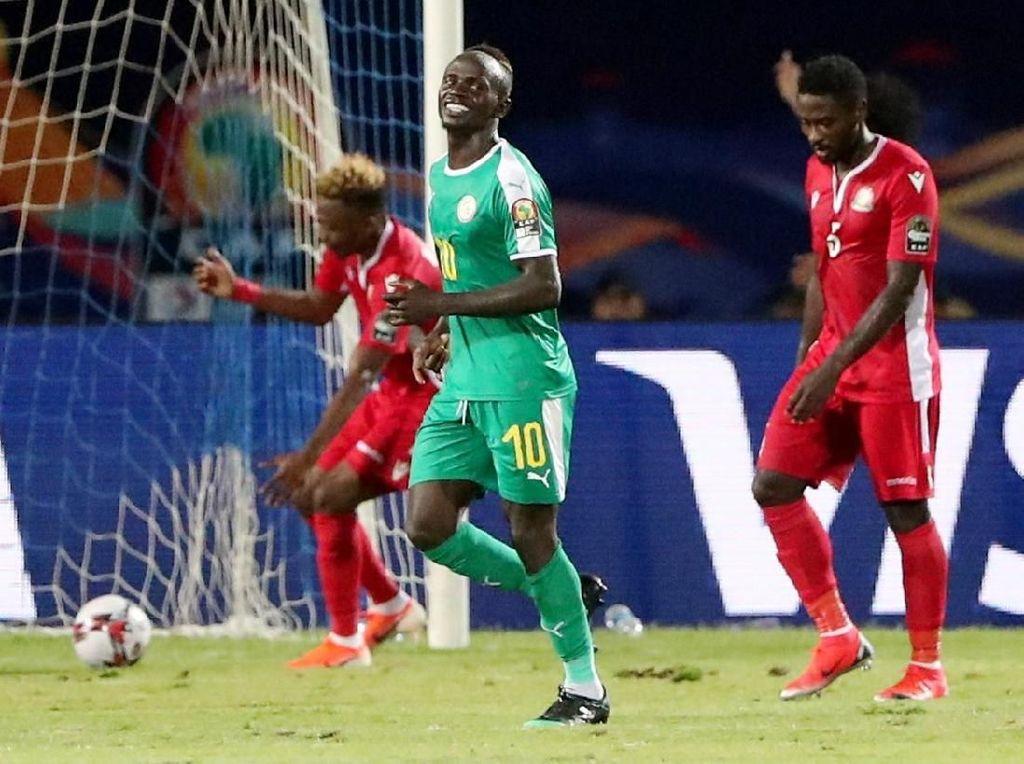 Piala Afrika 2019: Mane Dua Gol, Senegal Atasi Kenya dan Lolos ke 16 Besar