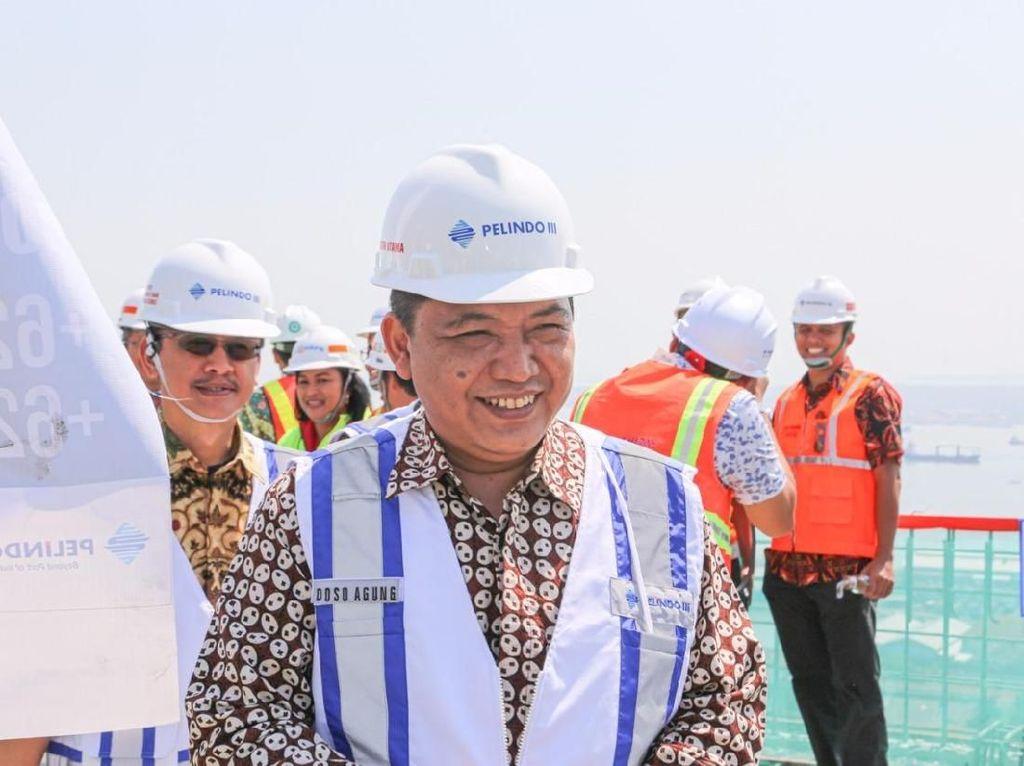 Pelindo III Rampungkan Pembangunan Tower Poros Maritim Tanjung Perak