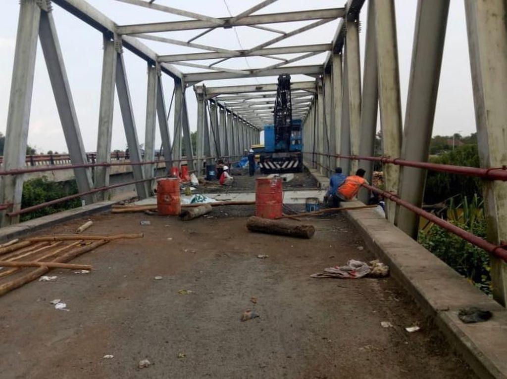 Sempat Rusak, Jembatan Penghubung Lampung-Sumsel Bisa Dilintasi