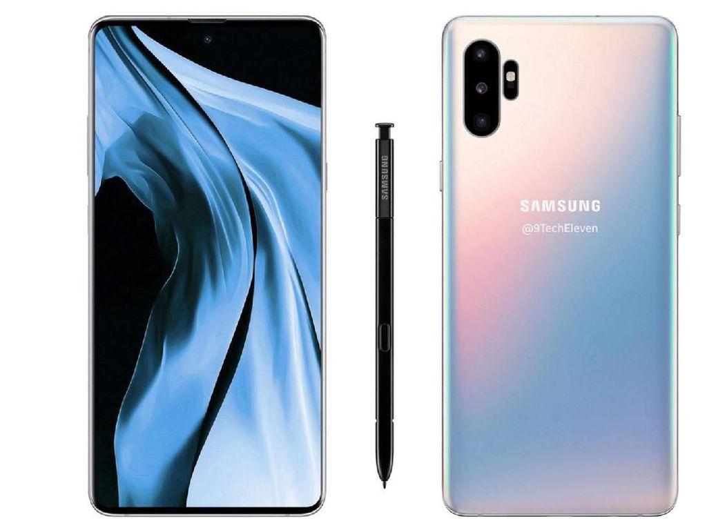 Catat! Ini Tanggal Peluncuran Samsung Galaxy Note 10