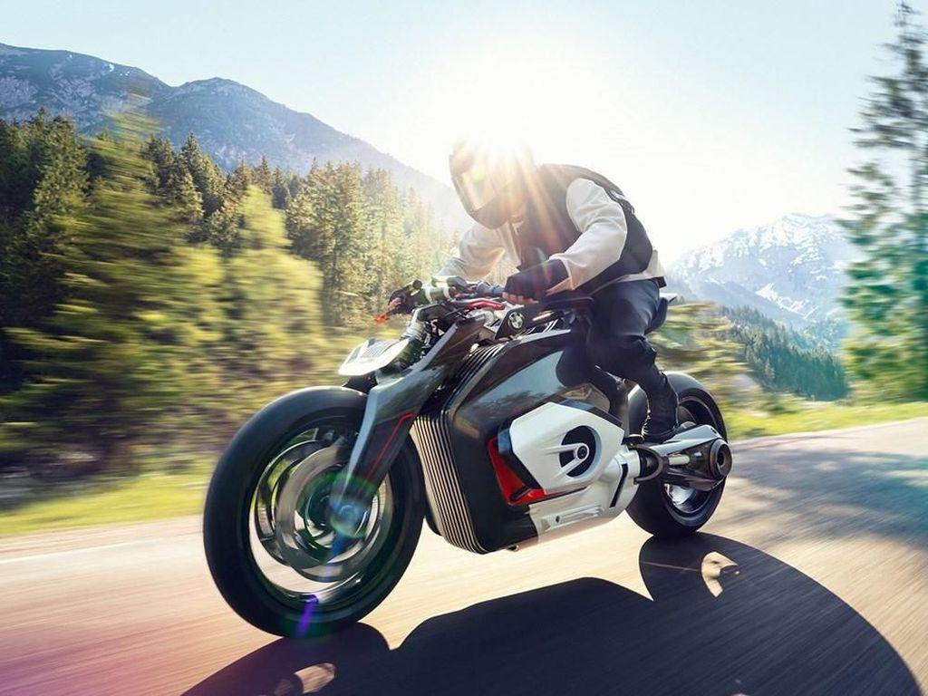 Motor Listrik Baru BMW Pakai Mesin Boxer dan Gardan