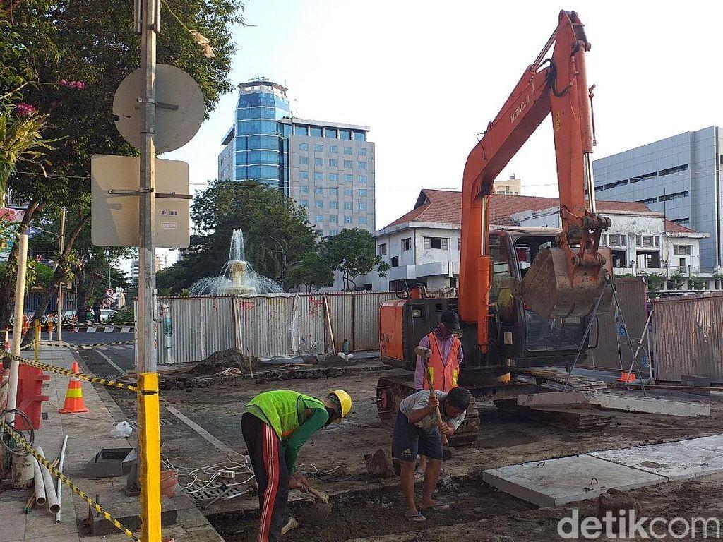 Tes PIT Alun-alun Suroboyo Rampung 2 Hari, Jalan Yos Sudarso Besok Normal