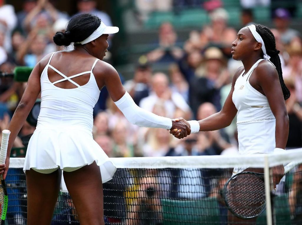 Venus Disingkirkan Petenis 15 Tahun di Babak Pertama Wimbledon