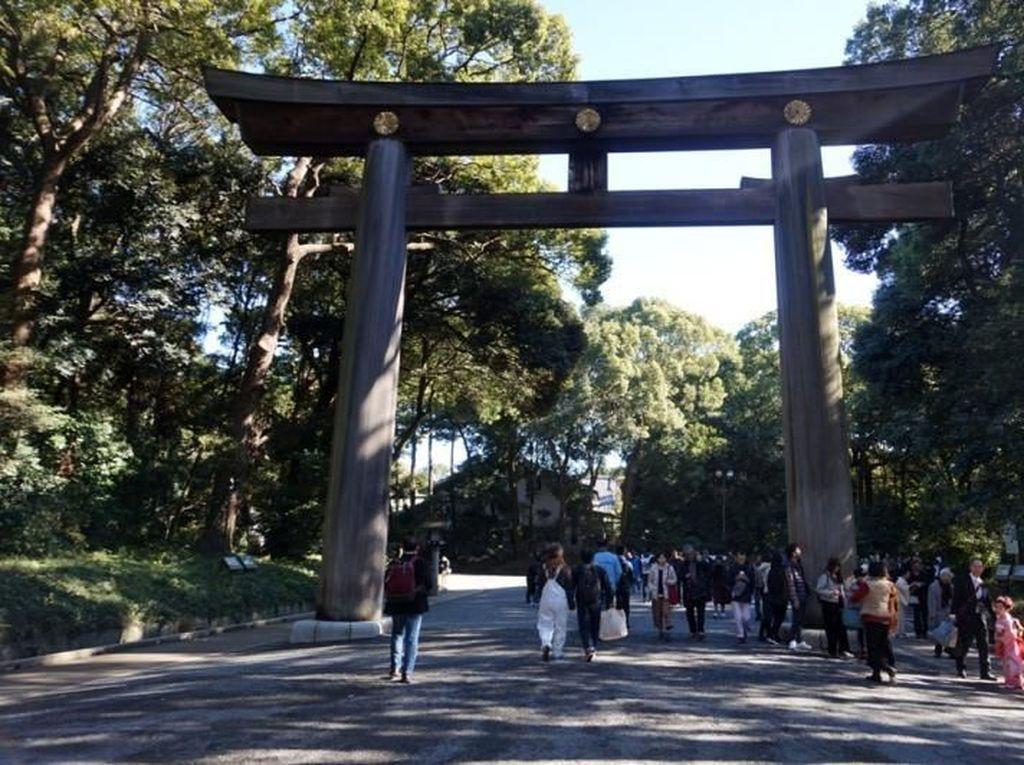 Foto: Meiji Jingu, Oase Hijau di Tengah Kota Tokyo