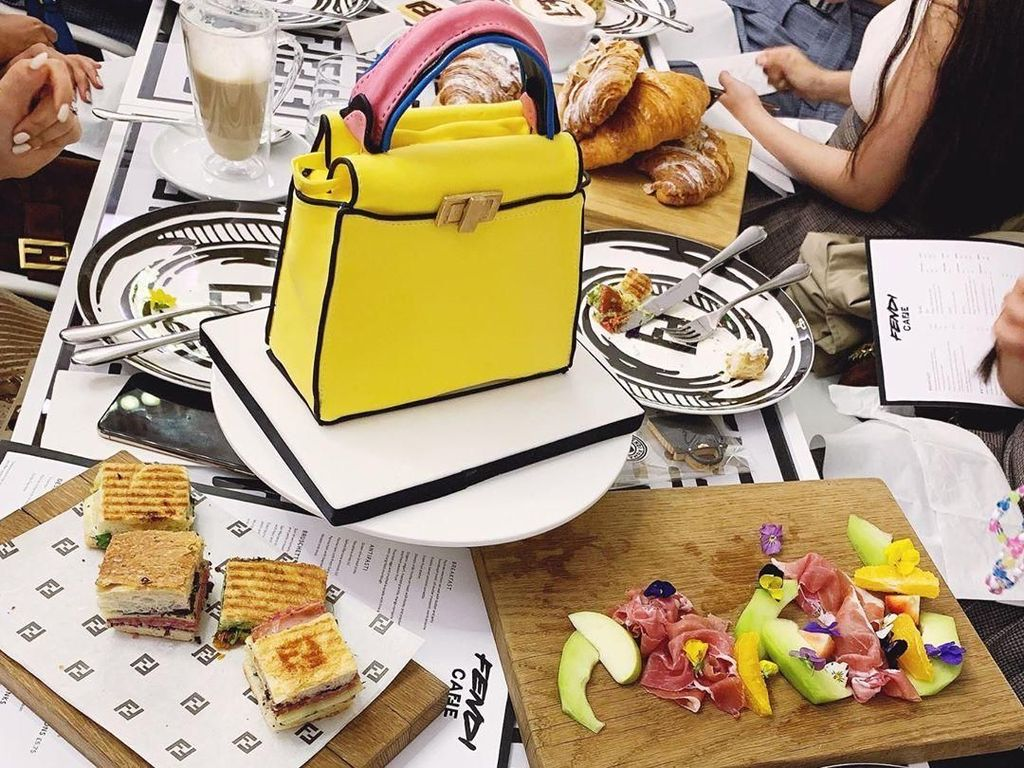 Mengintip Suasana dan Menu di Kafe Pop-Up Fendi yang Instagramable