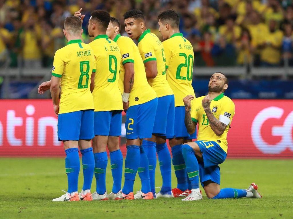 Brasil Vs Argentina: Kerja Keras dan Efektivitas Bawa Selecao ke Final