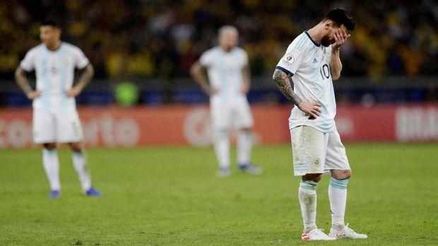 Lionel Messi gagal bawa Argentina juara di Copa America 2019.