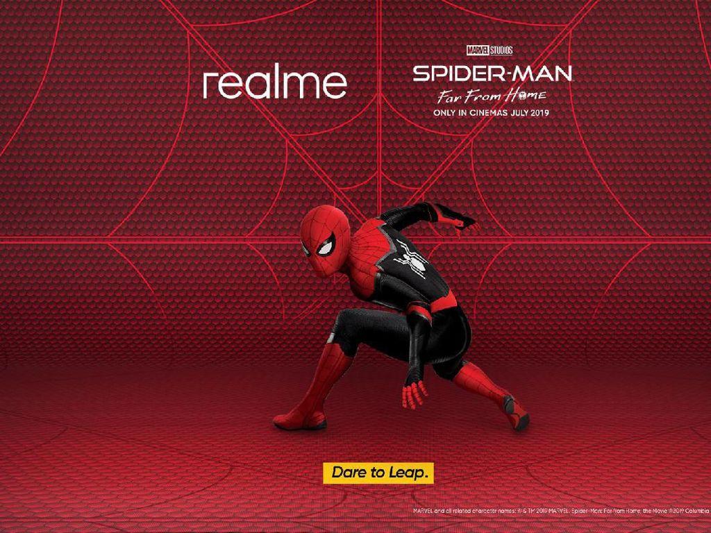 Realme Ajak Anak Muda Jadi seperti Spider-Man, Caranya?