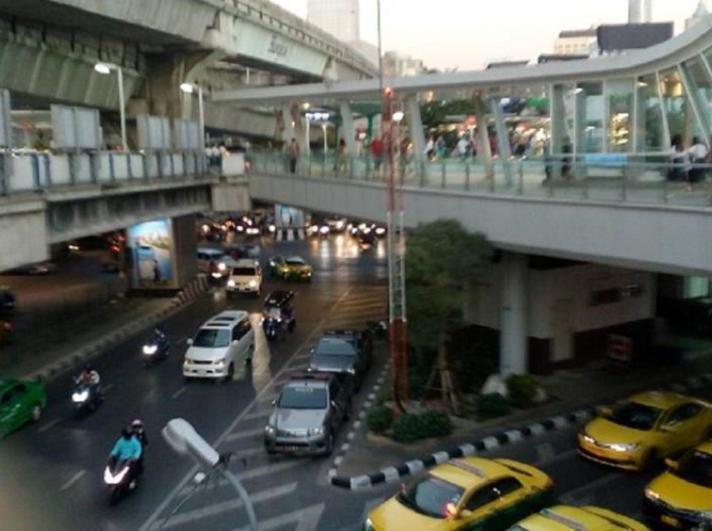 Foto: Geliat Sibuk Kota Bangkok