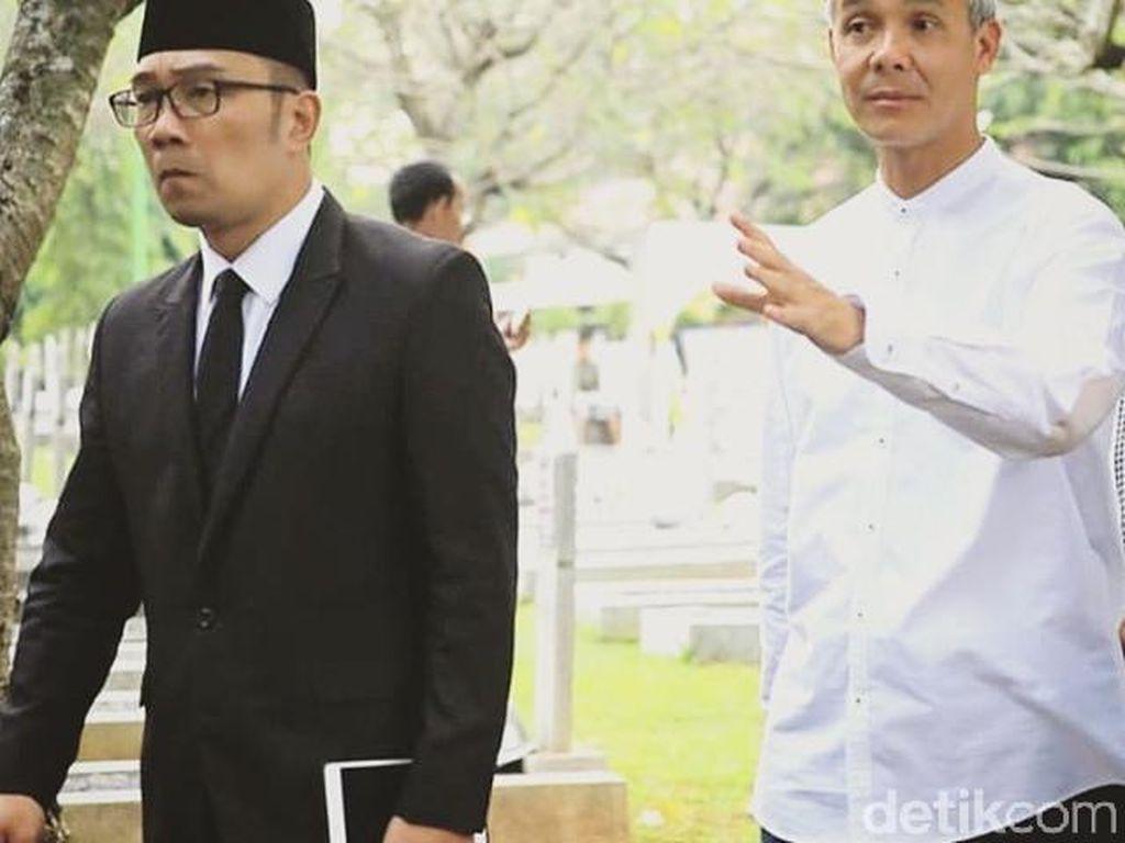 RK Posting Foto Bareng Ganjar Pranowo, Netizen: Capres Cawapres 2024 Nih!