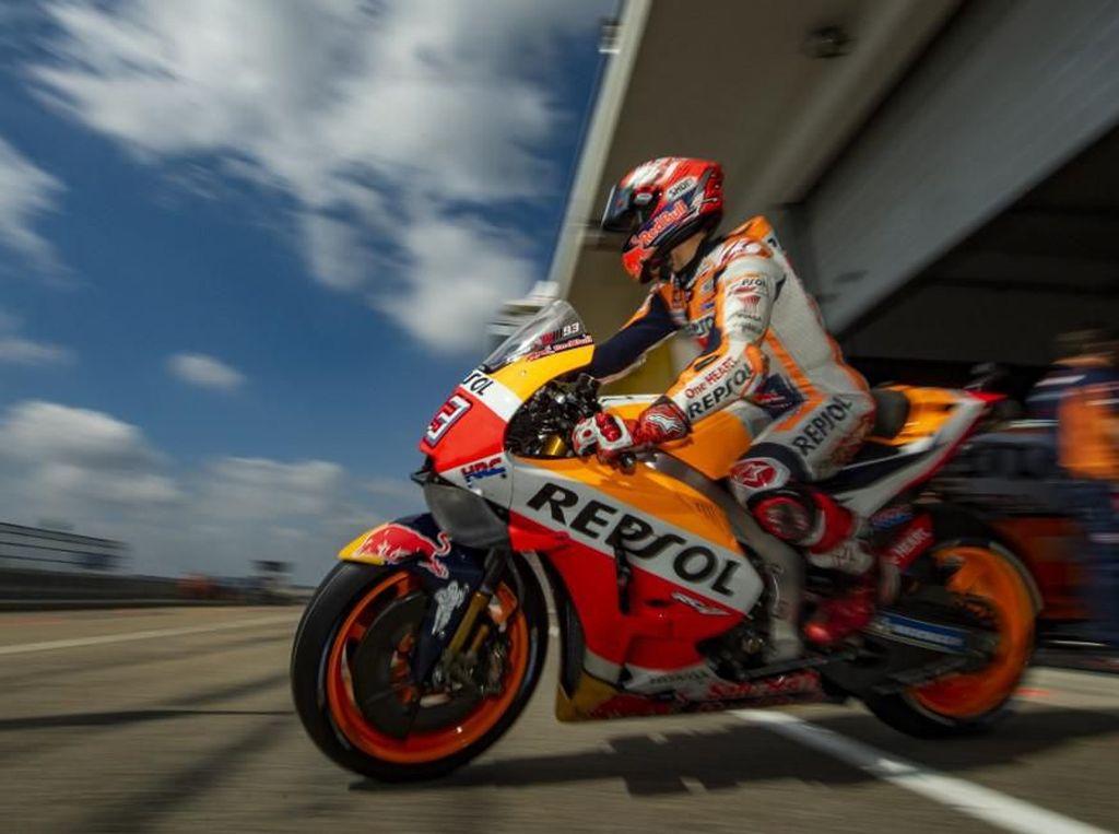 MotoGP Jerman: Marquez Mengejar 2 Rekor Kemenangan Rossi