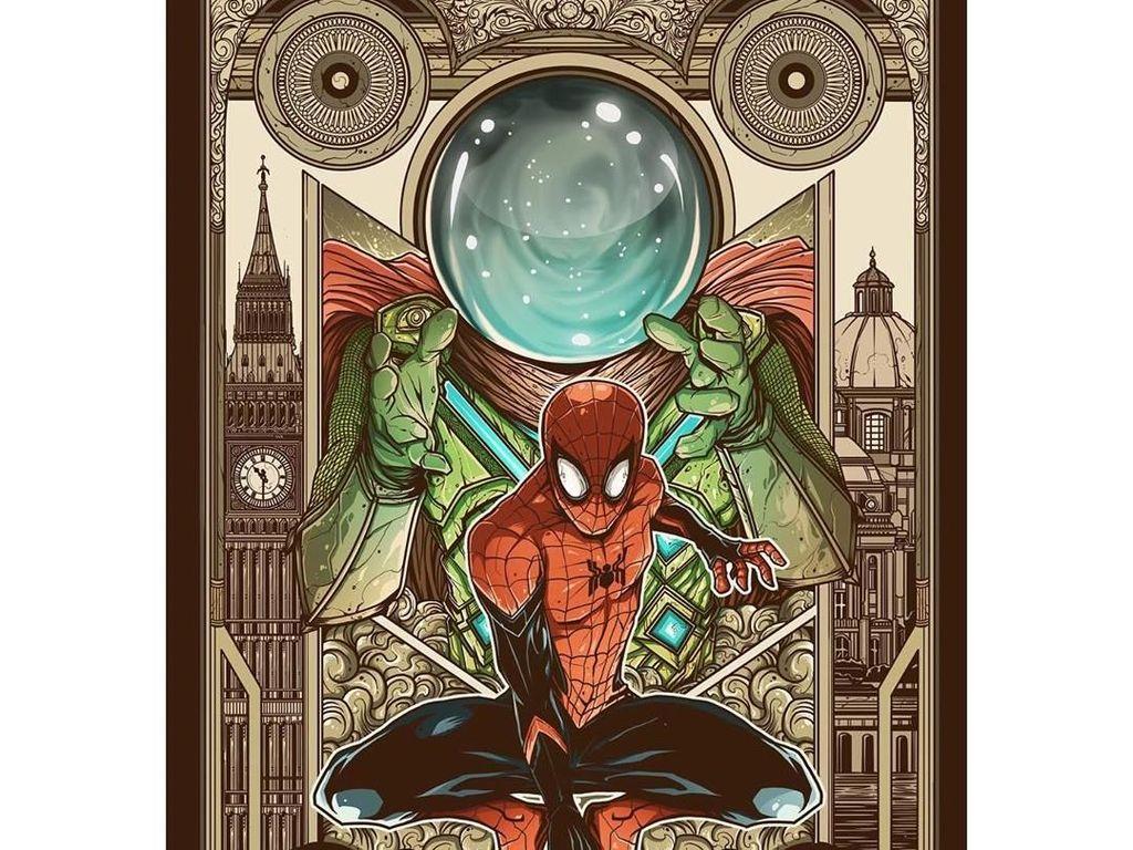 Cerita Di Balik Poster Pemenang Fan Art Spider-Man