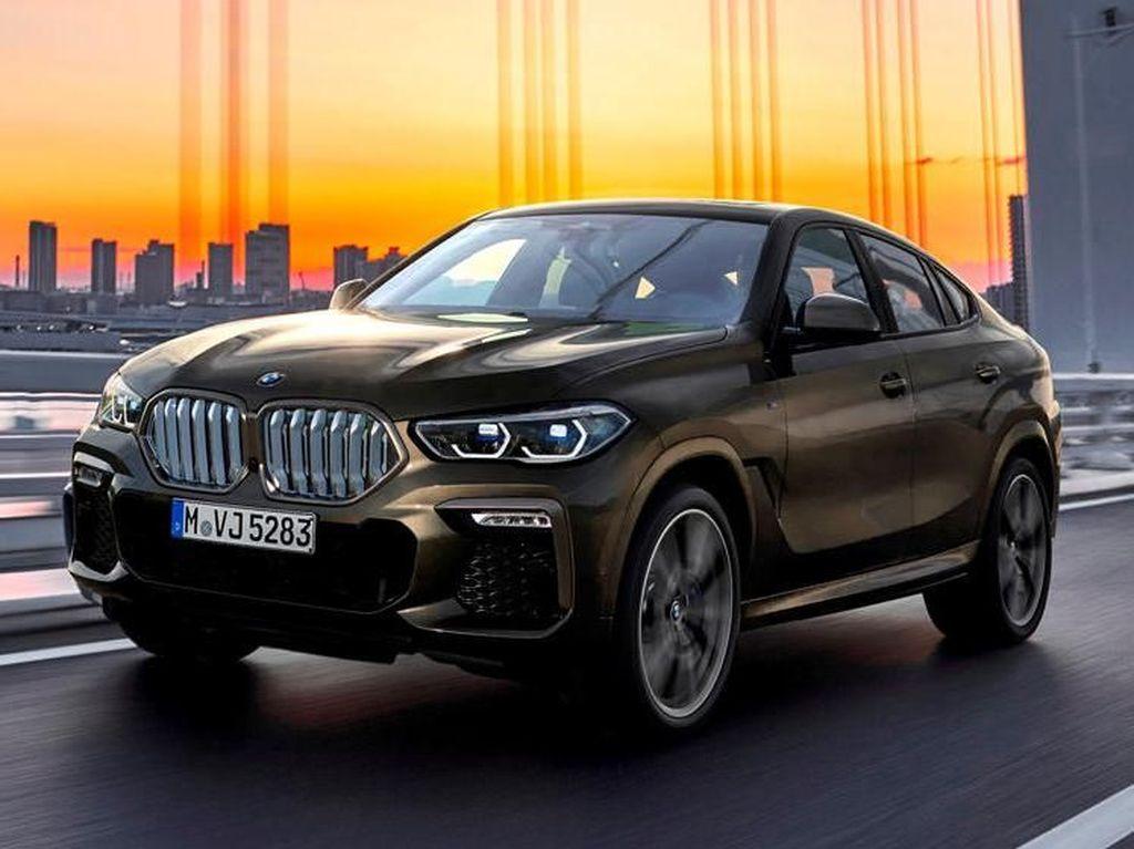 BMW X6 Bakal Gendong Mesin V8