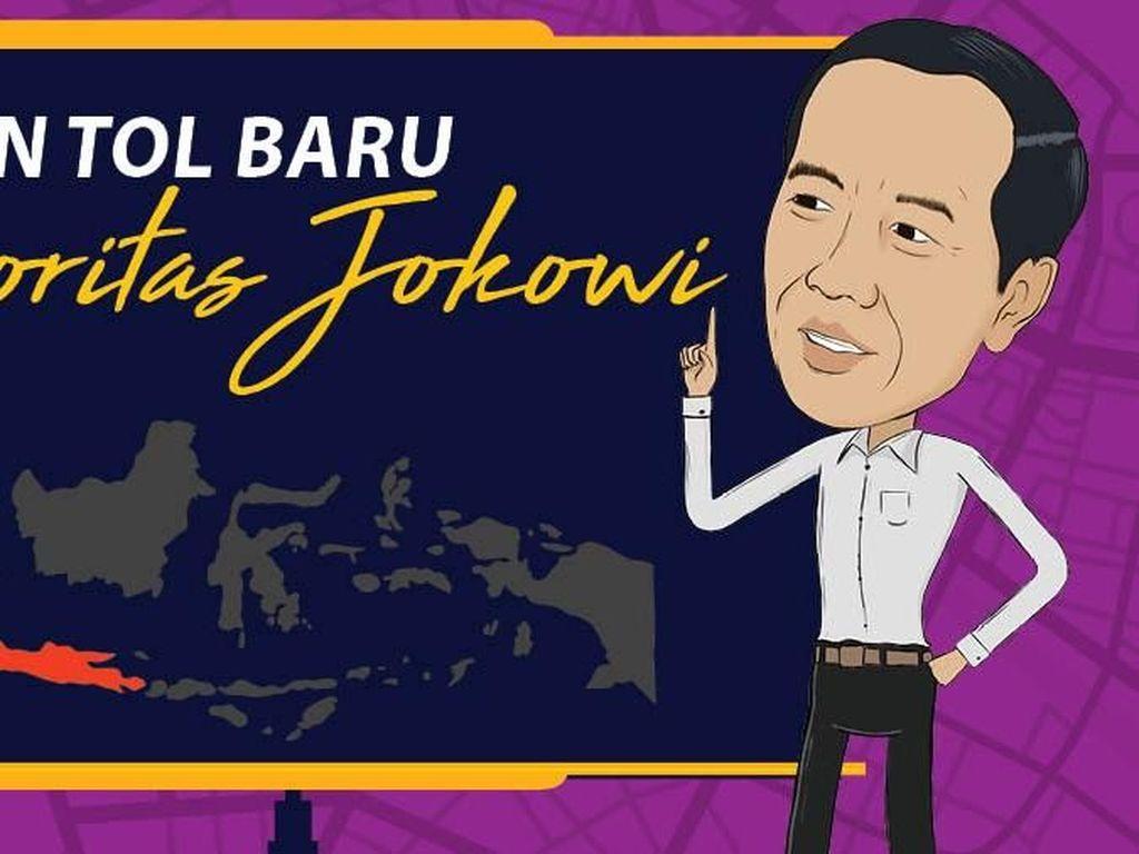 Daftar Lengkap 14 Jalan Tol Prioritas Jokowi