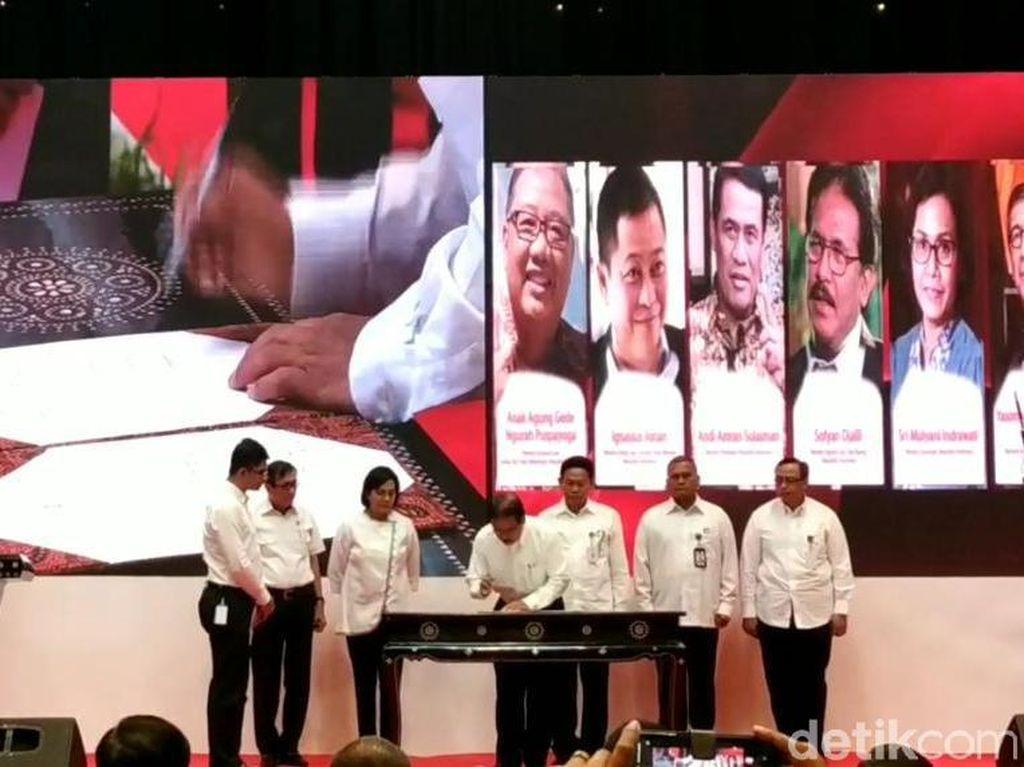 Cegah Korupsi Korporasi, Menkum HAM Gandeng Menkeu hingga Menteri ATR