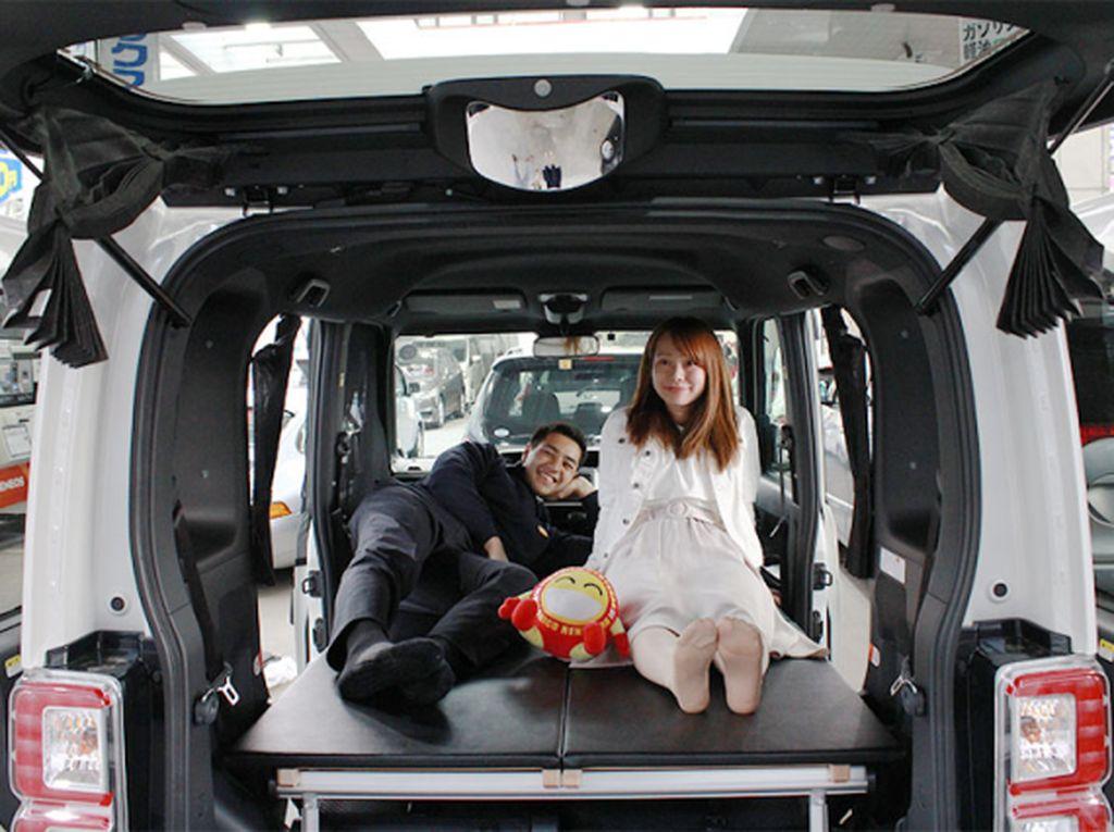 Menginap di Mobil, Opsi Liburan Murah di Jepang