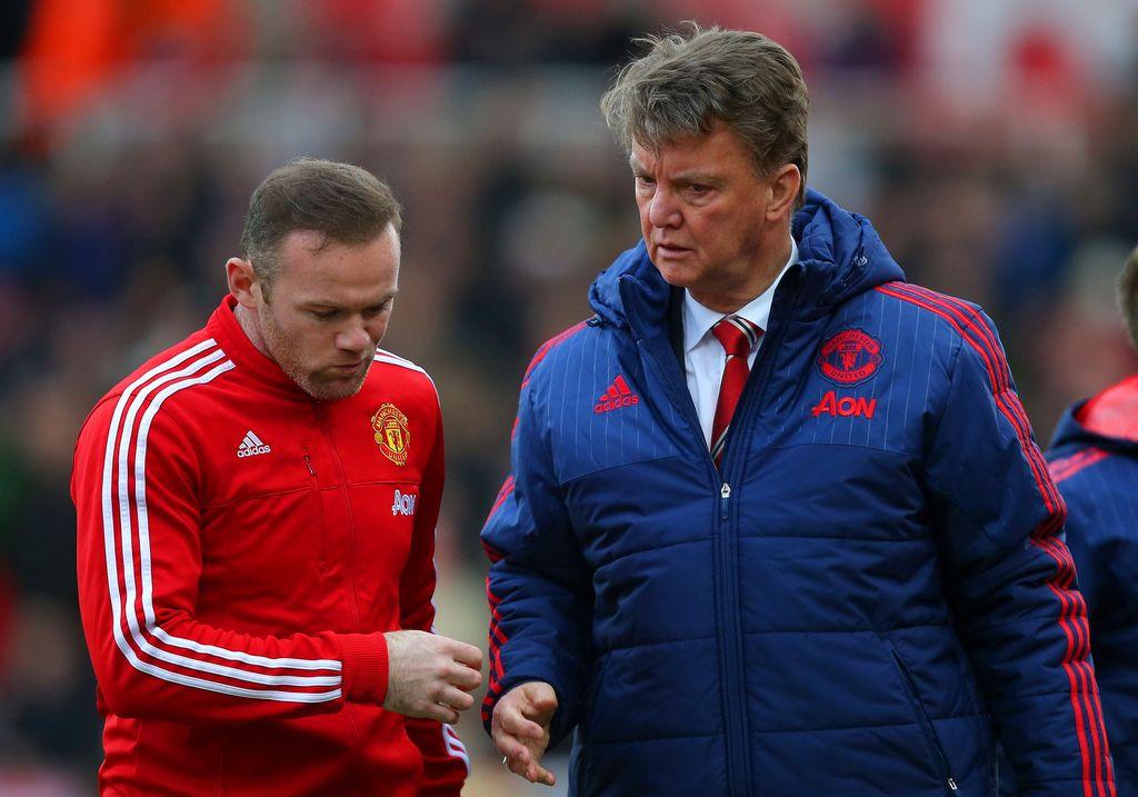 Wayne Rooney dan Louis van Gaal