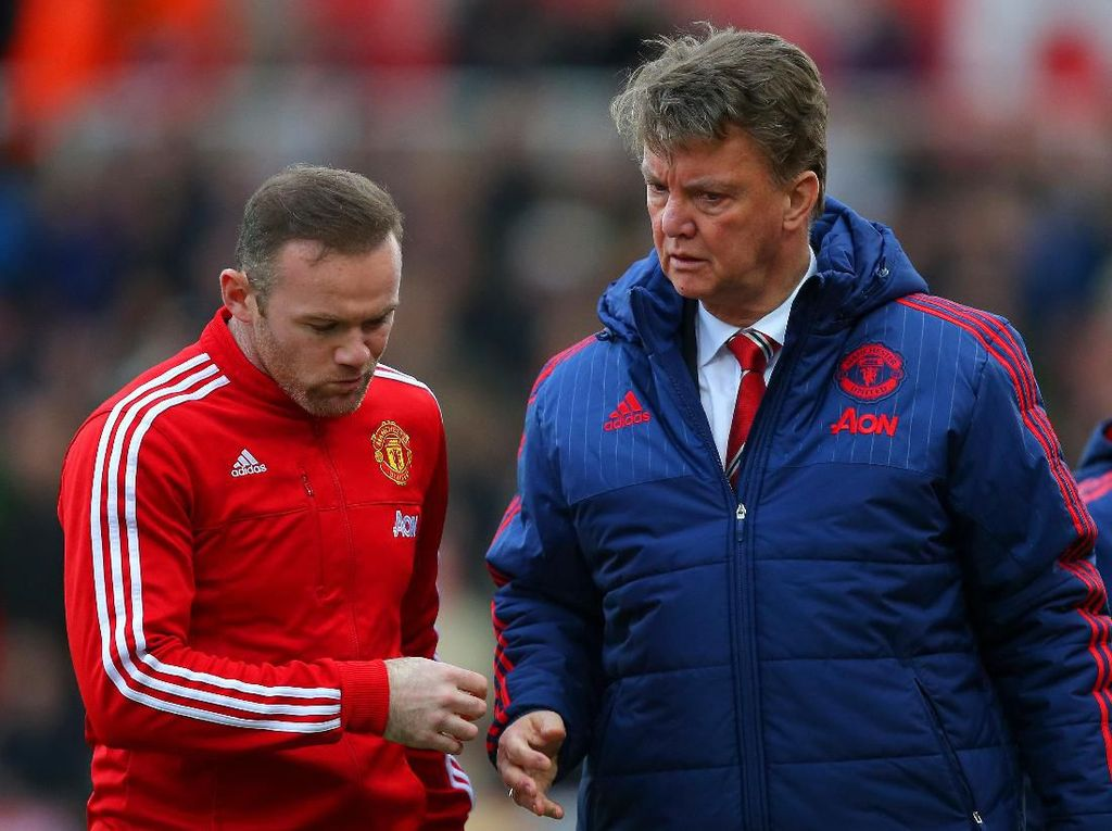 Bukan Sir Alex Atau Mourinho, Manajer Terbaik Buat Rooney adalah Van Gaal