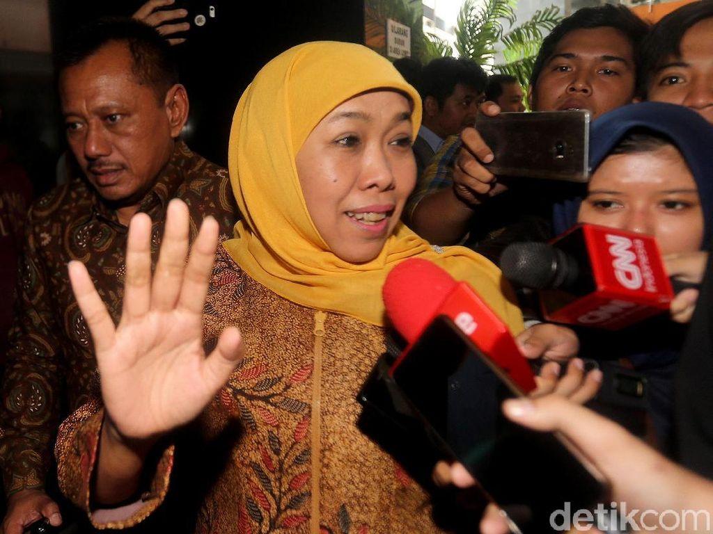 Jaksa KPK akan Panggil Gubernur Jatim Khofifah Bersaksi di Sidang Rommy