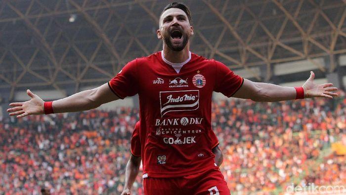 Persija Jakarta berhasil mengalahkan PSS Sleman 1-0 lewat gol tunggal Marko Simic. Hasil ini membawa Macan Kemayoran meraih kemenangan perdana di Liga 1 2019.