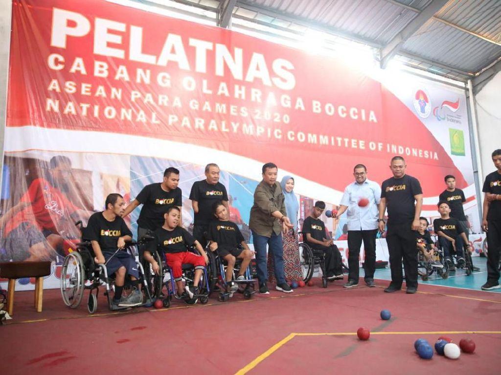 Menpora Cek Kesiapan Atlet Difabel Hadapi APG dan Paralimpiade