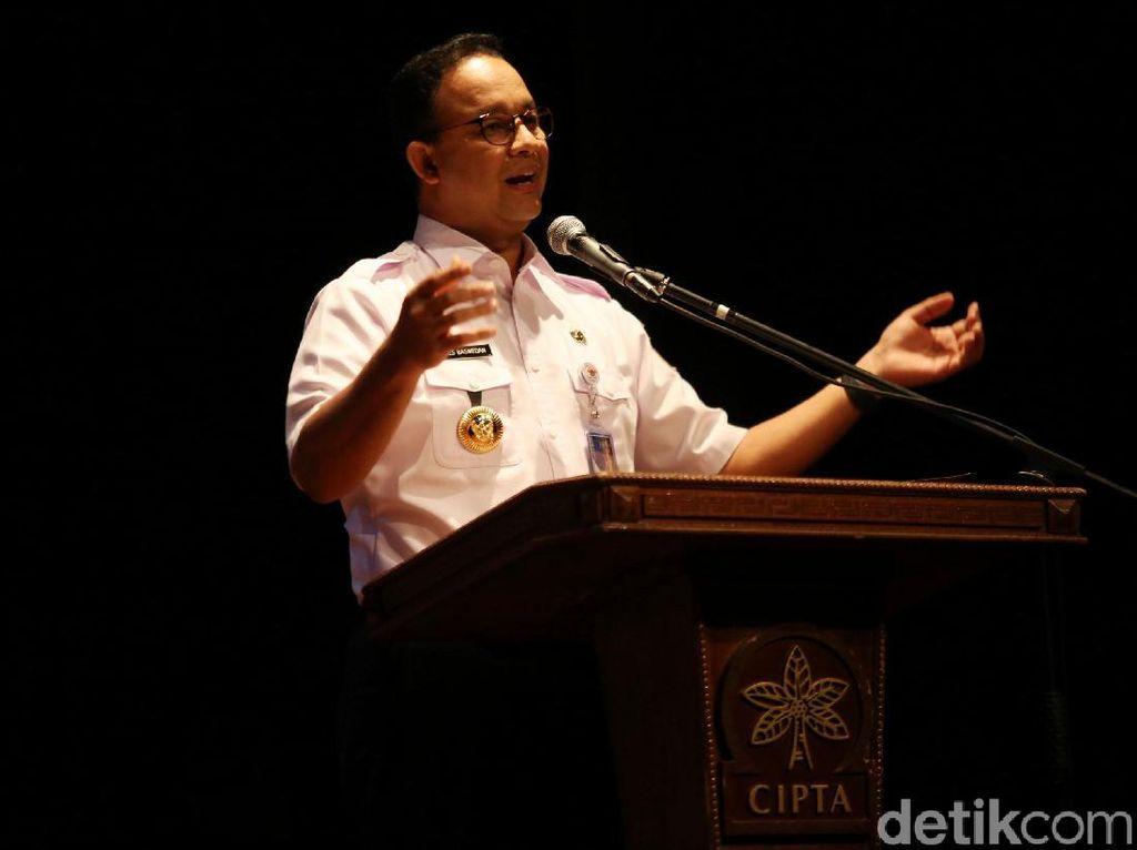 Anies akan Lantik Pejabat Eselon II Hasil Lelang Jabatan Hari Ini