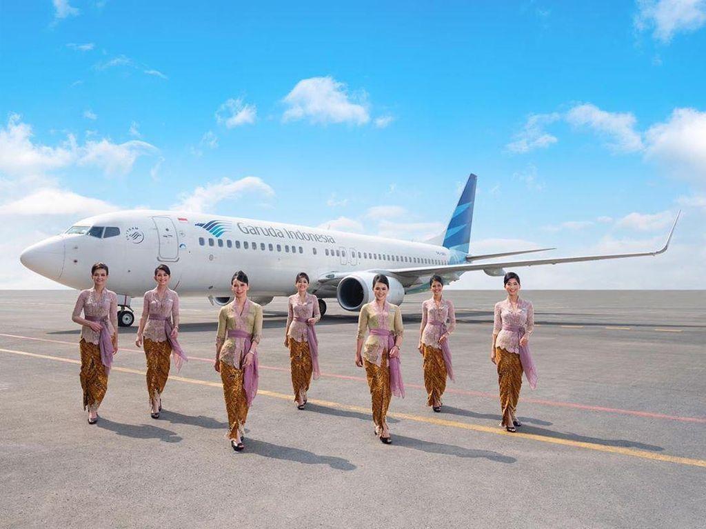 Cantik Indonesia, Pramugari Garuda Dalam Kebaya Anne Avantie