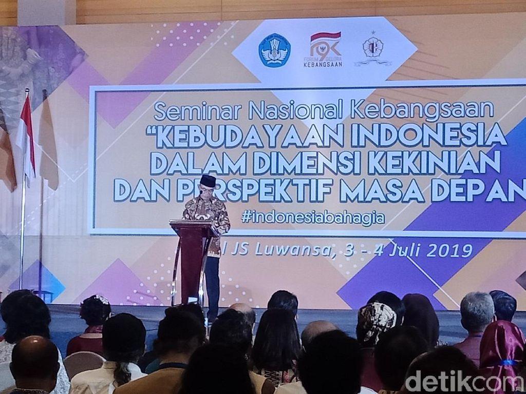 Mendikbud Ingin Strategi Kebudayaan Diterapkan Lewat Kerja Nyata
