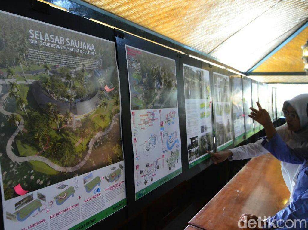 63 Arsitek Berlomba Jadi Jawara Sayembara Geopark Nasional Banyuwangi