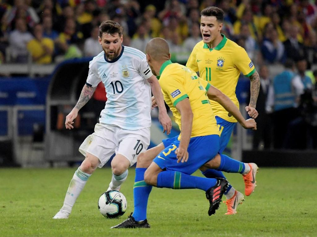 Brasil Ungkap Cara Redam Lionel Messi